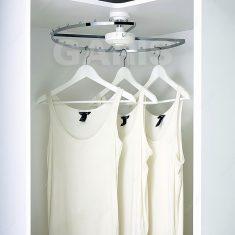 Giá xoay treo góc tủ quần áo